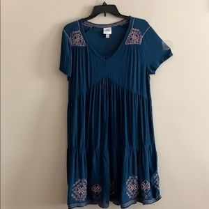 NWOT Boho embroidered dress